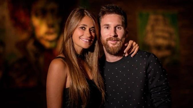 ¡Puro amor! El mensaje de Antonela para Messi