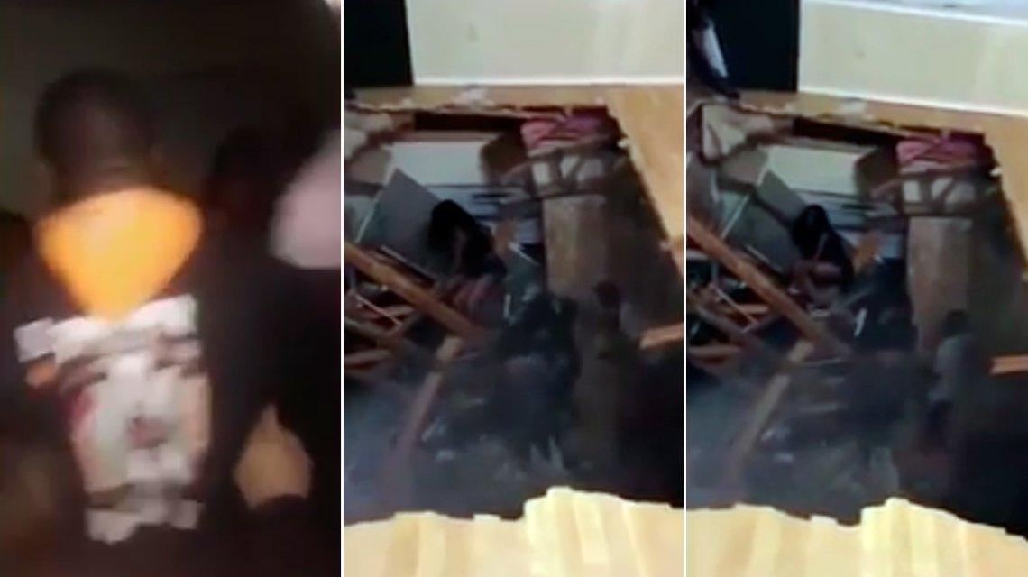 Colapsa piso durante una fiesta en Texas