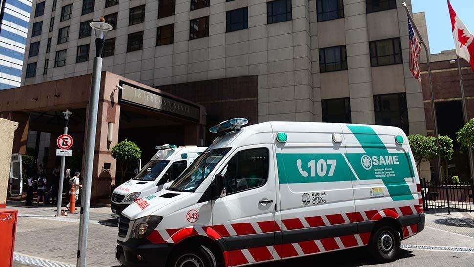 Explosión y evacuación en un hotel porteño: trece heridos