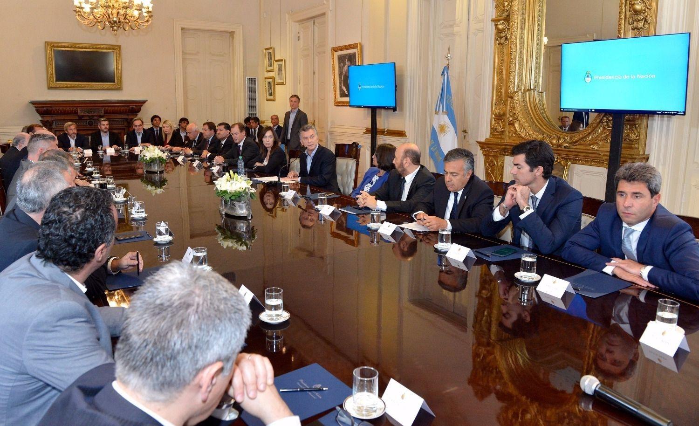 Los gobernadores acordaron las reformas previsionales — Pacto fiscal