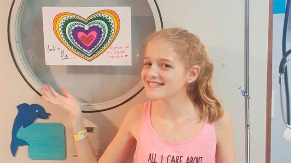 Falleció Justina Lo Cane, la nena que esperaba un trasplante de corazón
