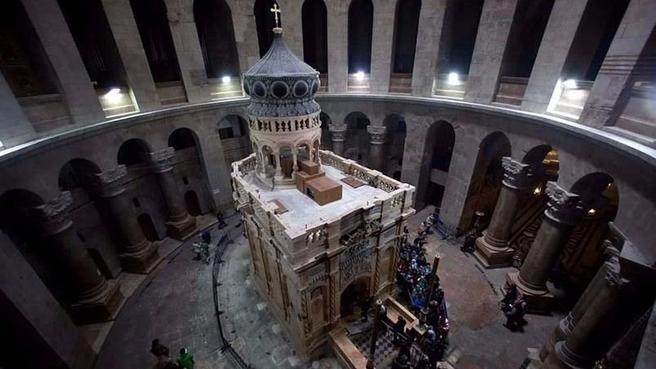 Revelaron la edad de la tumba de Cristo