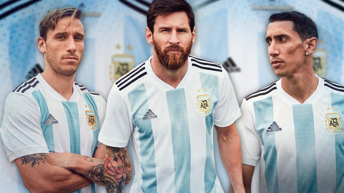 Mirá la nueva camiseta de la Selección Argentina
