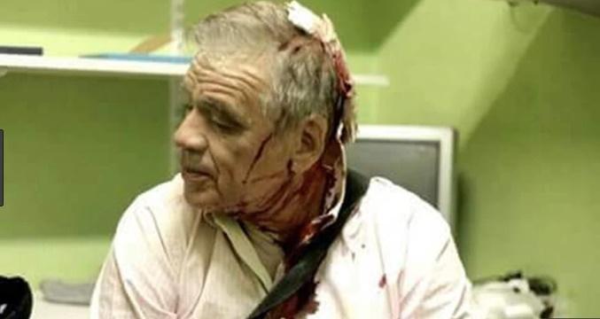 Moreu justificó la agresión a Julio Bazán porque trabaja en Clarín