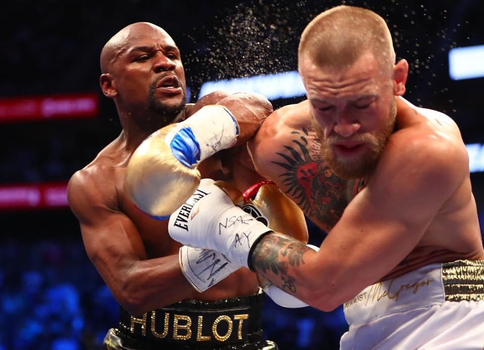 Mayweather castigó a McGregor