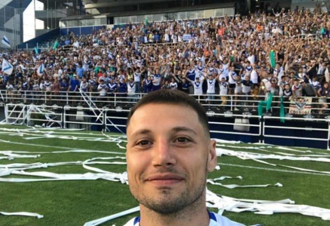 El espectacular y emotivo recibimiento a Mauro Zárate