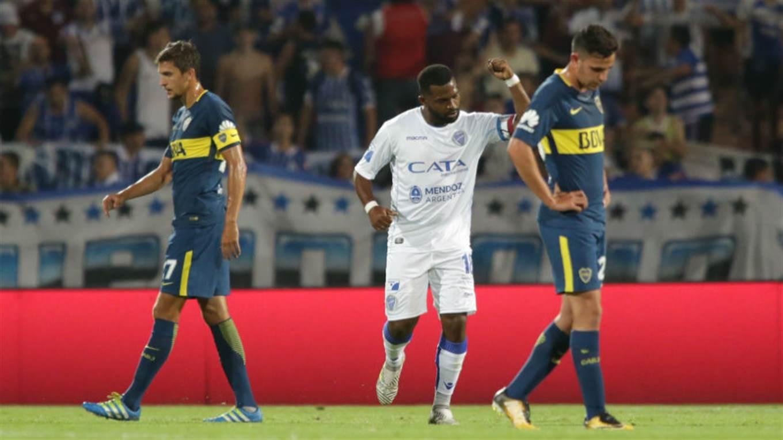 Godoy Cruz se entrena pensando en Boca