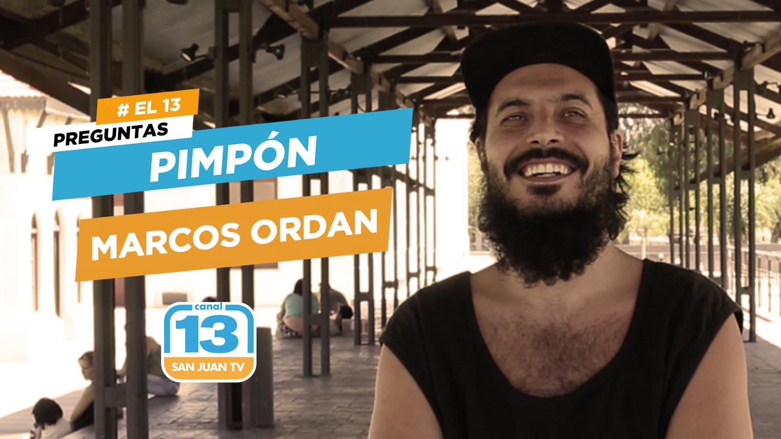 Que es lo que más le molesta a Marcos Ordán? - Canal 13 San Juan TV