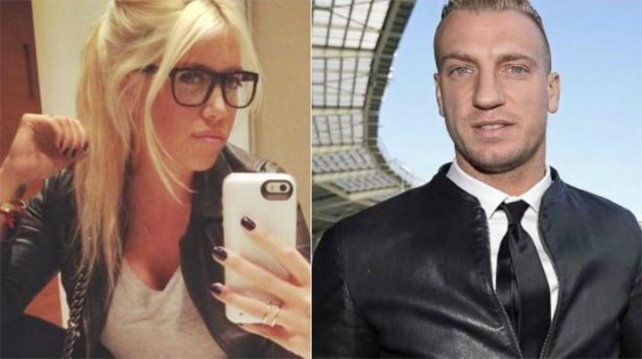 La novia de Maxi López hizo su descargo contra Wanda Nara
