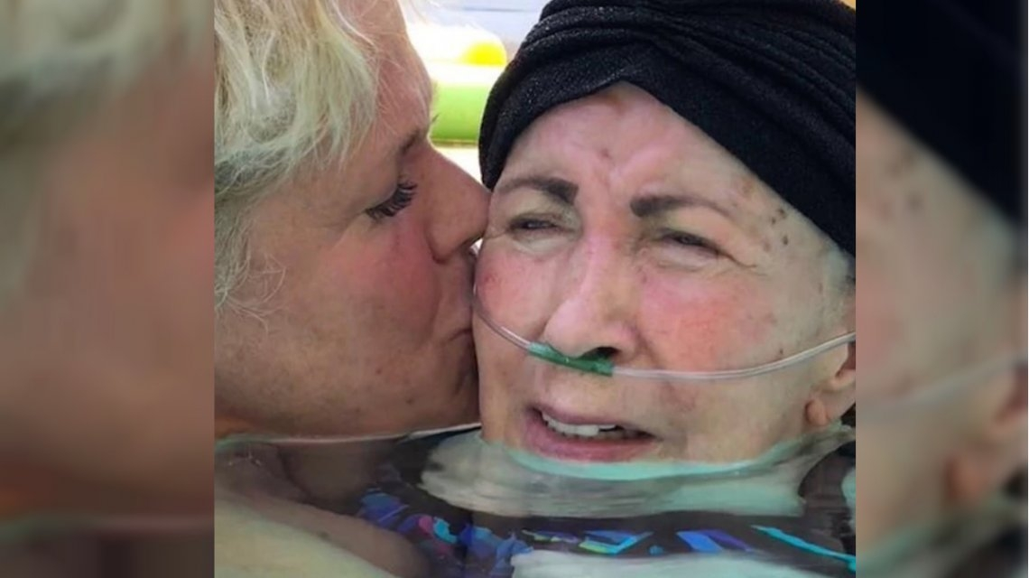 El conmovedor video de Xuxa cantándole a su mamá enferma