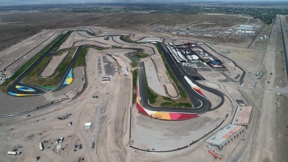Circuito Zonda San Juan : Jornada histórica: el circuito villicum levantó el telón canal 13