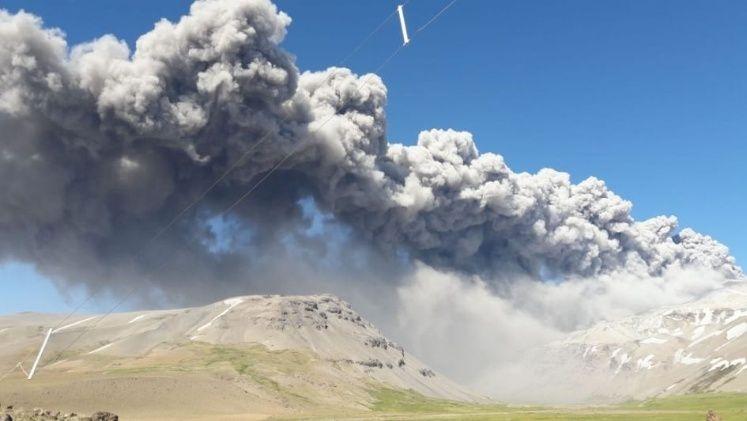 Malargüe: alerta por la actividad del volcán Peteroa