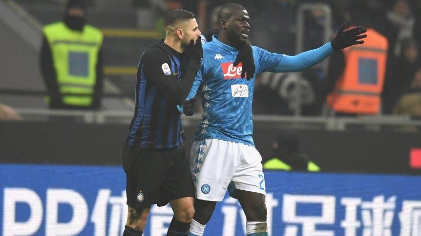 Cantos racistas hacia Koulibaly en la Serie A