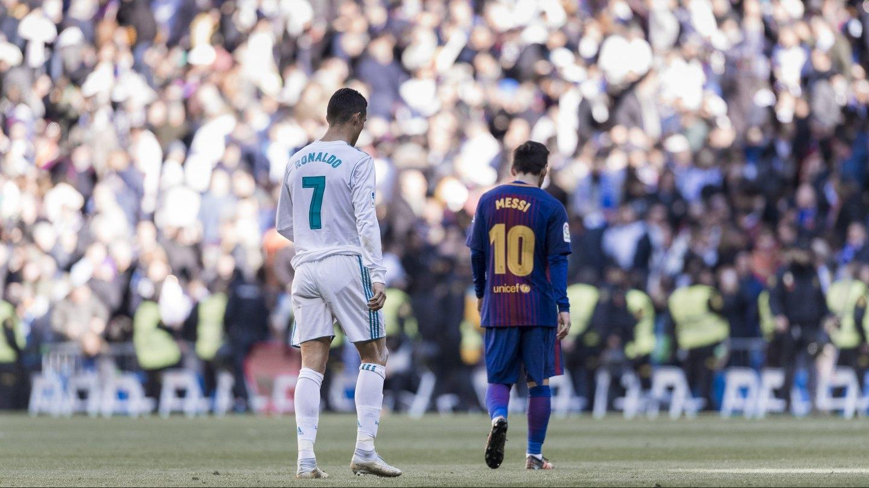 Messi y Cristiano verán el River-Boca en el Bernabéu