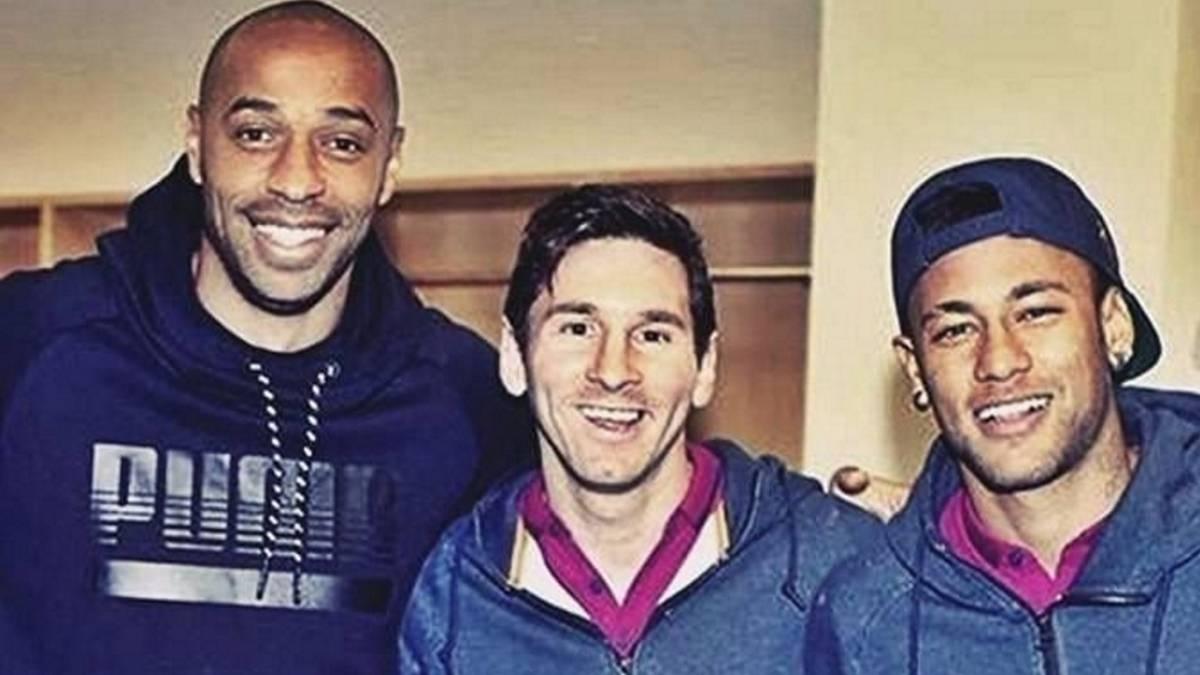 Thierry Henry acaba tajantemente con las comparaciones de Neymar con Messi