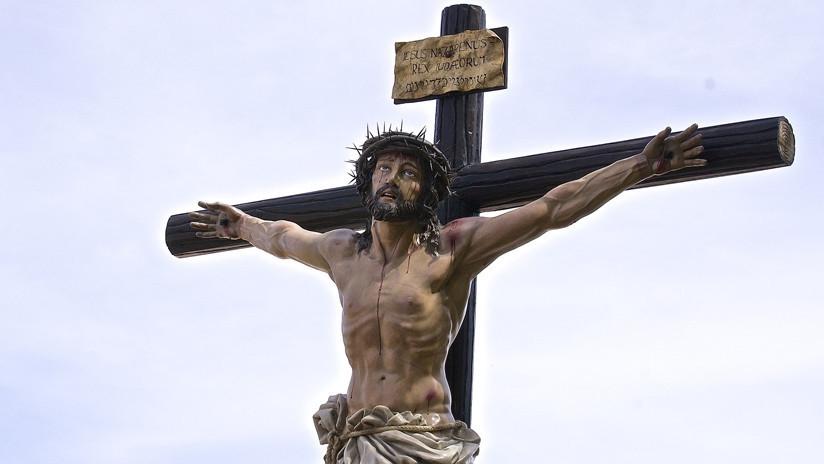 Multa de 480 euros a un joven por un fotomontaje de Jesucristo
