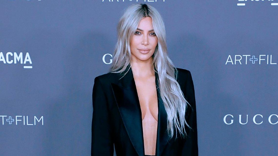 Kim Kardashian compartió la selfie más tierna con su hija, Chicago