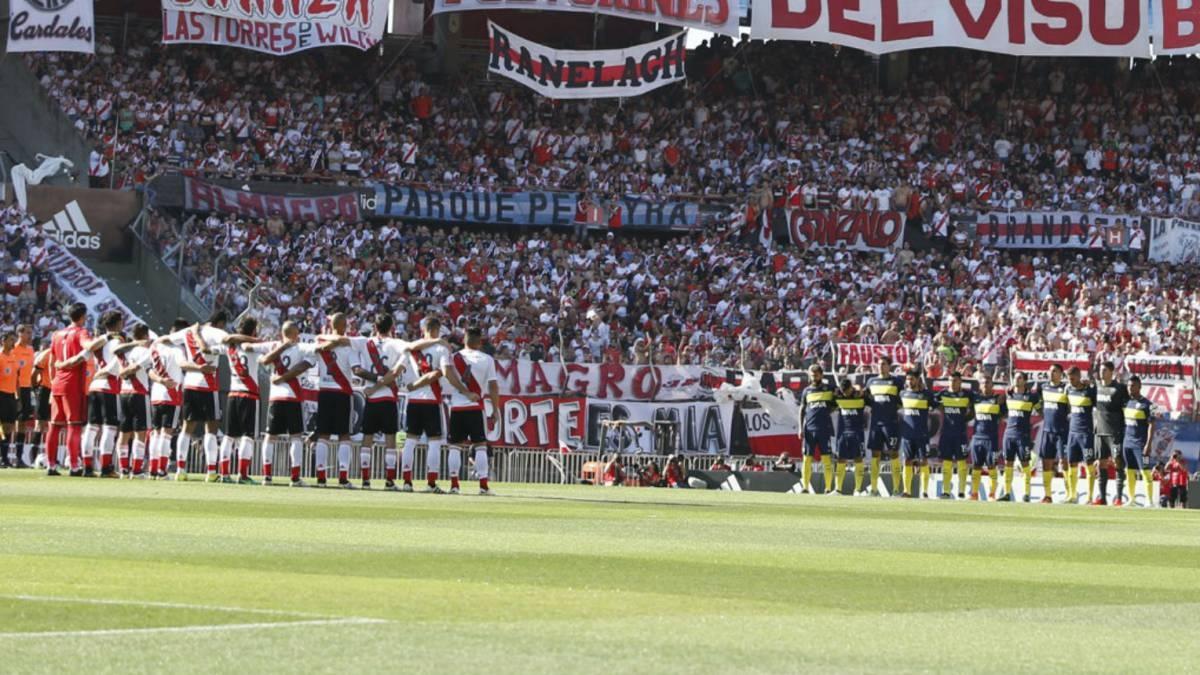 Fútbol: Argentina, en vilo por el superclásico