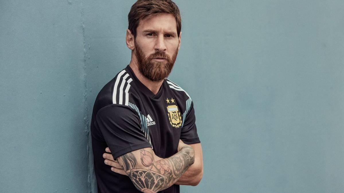 Mirá la camiseta suplente que Argentina usará en Rusia 2018