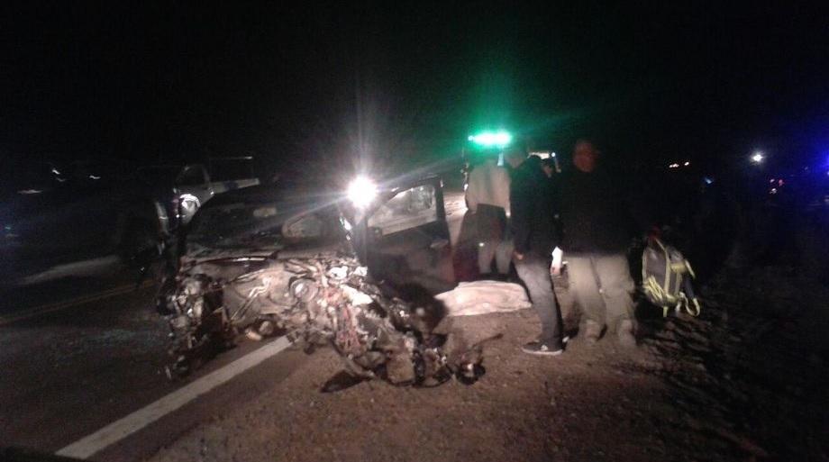 Una mujer murió tras un choque frontal en la Ruta 40
