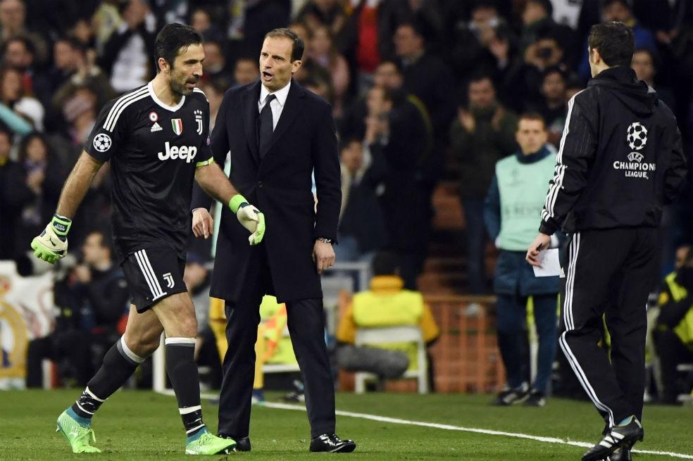 Cristiano Ronaldo sorprendió al mundo con gran gesto con Gianluigi Buffon