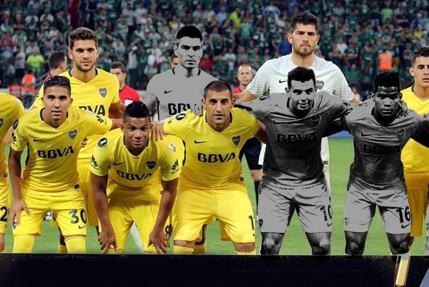 Boca: se desgarró Barrios y será baja por tres partidos