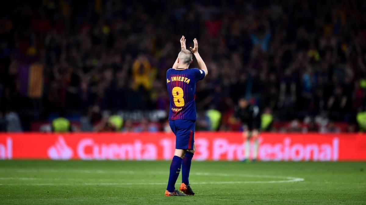 Andrés Iniesta desvelará este viernes su futuro en el club Barcelona