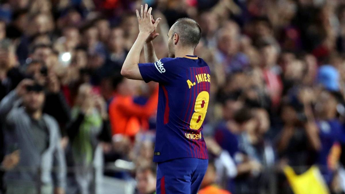 Esta es la nueva camiseta de Barça con homenaje a Andrés Iniesta