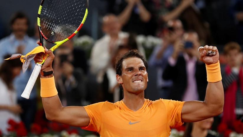 Damir Dzhumhur será el primer rival de Rafael Nadal