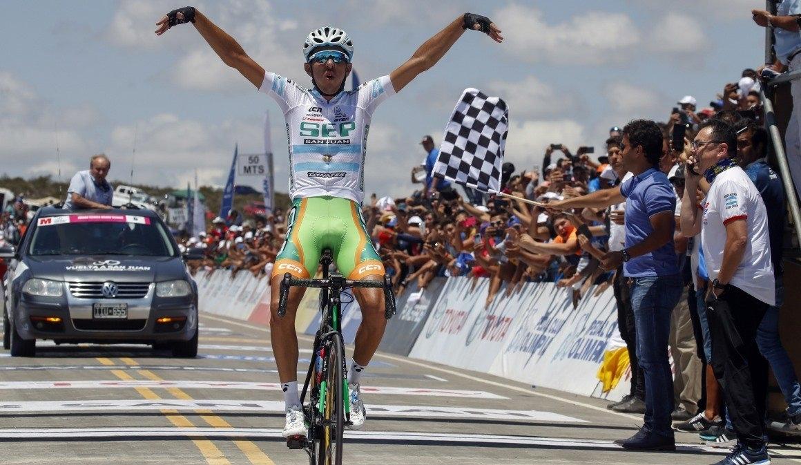 Investigan por doping al ganador de la Vuelta a San Juan