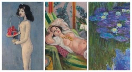 'Chica con Flores' de Picasso alcanza los 2 mmdp en subasta