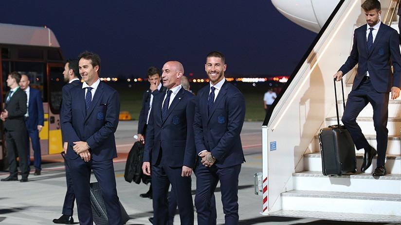 España viaja a Rusia con 25 jugadores