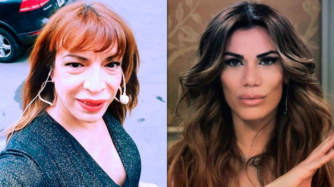 La Tremenda Pelea Entre Lizy Tagliani Y Flor De La V Por El Humor Trans