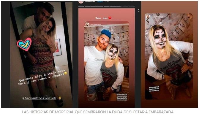 Espectáculos: Morena Rial, reconciliada y ¿con un nuevo embarazo?