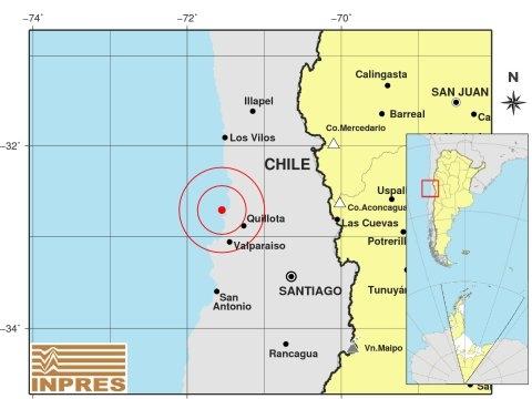 Dos sismos sacudieron este lunes a Chile