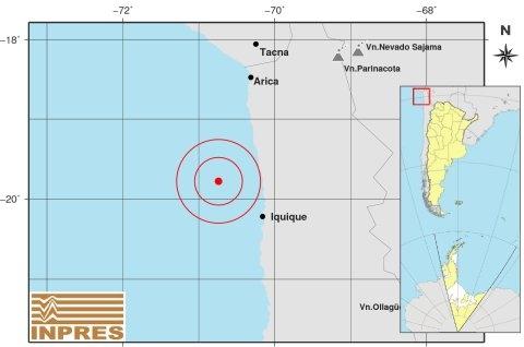 Registran dos sismos de 5.2 y 5.0 en Chile