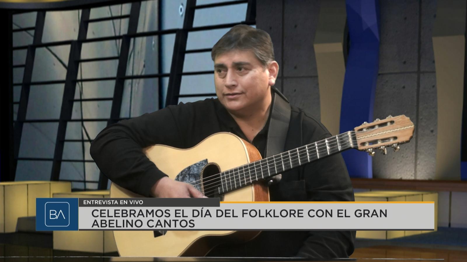 Celebramos el Día del Folklore con una figura de la tonada - Canal 13 San Juan TV