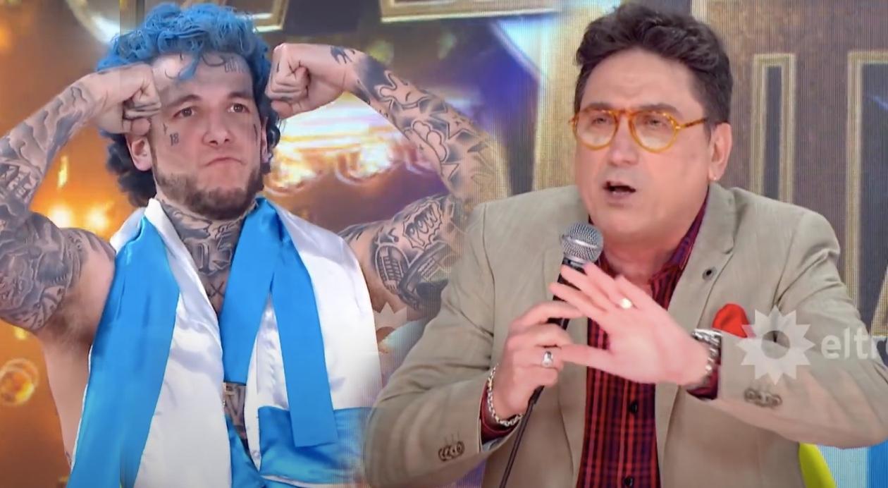 Oscar Mediavilla cruzó a Alex Caniggia: Sos una marmota