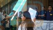 Protesta por la liberaci�n de tres presuntos homicidas