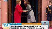 Agua Negra: Expectativa por la cumbre de CFK y Bachelet el martes