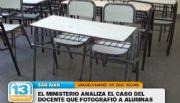 Educaci�n investiga el caso del docente que le tomaba fotos a las alumnas
