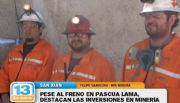 """La miner�a sigue siendo la actividad m�s din�mica de San Juan"""