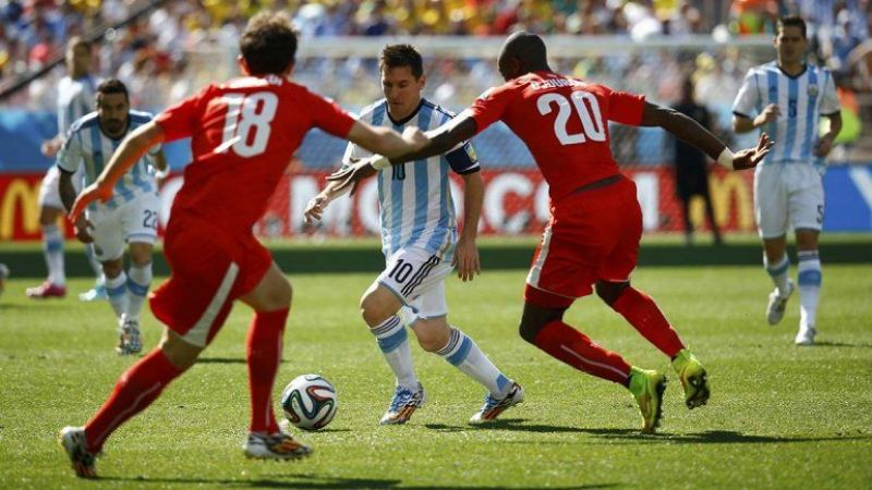 Argentina 0 - Suiza 0