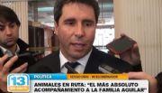 """Uñac: """"El más absoluto acompañamiento a los Aguilar"""""""