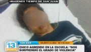 Walberto Allende, sorprendido por el caso del alumno golpeado en 9 de Julio