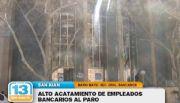 El paro bancario tuvo alto acatamiento en San Juan