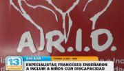 Especialistas franceses ense�aron a incluir a ni�os con discapacidad