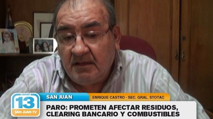 Paro: Prometen afectar residuos, clearing bancario y combustibles