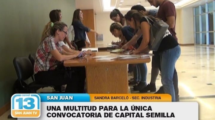 Una multitud para la única convocatoria de Capital Semilla