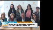 FNS 2016: Desde el 4 empiezan a elegir las candidatas departamentales